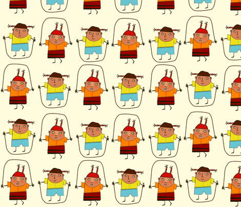 just_jump fabric by margart on Spoonflower - custom fabric