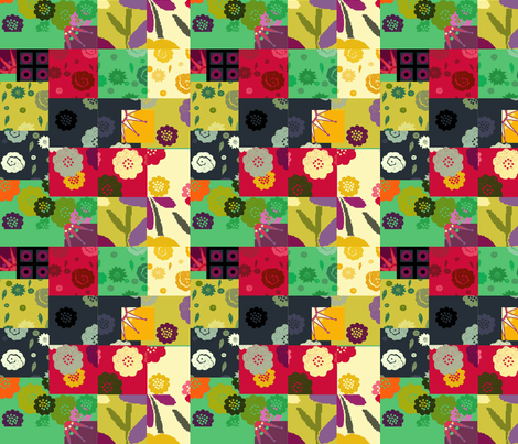 color block fabric by lfntextiles on Spoonflower - custom fabric