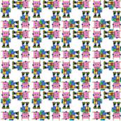 Pink Robots Teeny Tiny