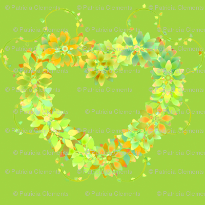 Floral_Hearts_Green