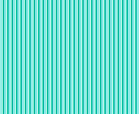 Stylized Flower - Stripe (teal) fabric by studiofibonacci on Spoonflower - custom fabric