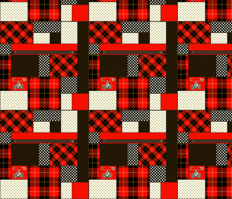 punkpattern fabric by mysteek on Spoonflower - custom fabric