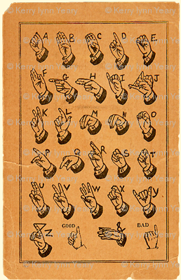 sign language alphabet cards