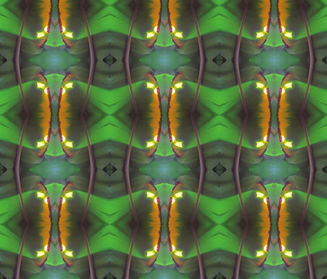Banana Leaf Palm fabric by janied on Spoonflower - custom fabric