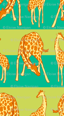 Giraffe Spots and Stripe