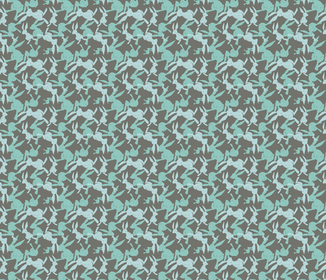 greyrabbits fabric by eloisenarrigan on Spoonflower - custom fabric
