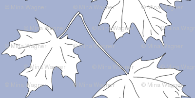 WRW-maple-2lvs-blwht