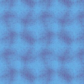 X in Blue