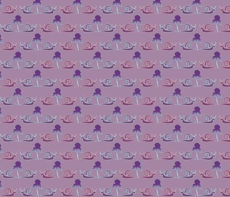 snail-iris-1LILAC fabric by mina on Spoonflower - custom fabric