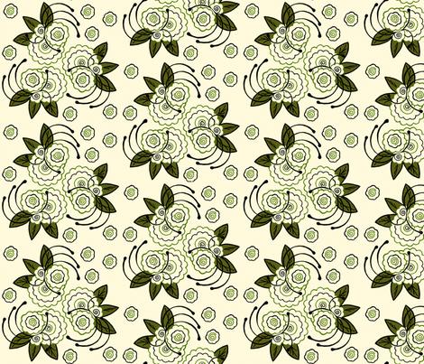 Whimsical Trio  fabric by cksstudio80 on Spoonflower - custom fabric