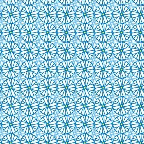 daisy wheels fabric