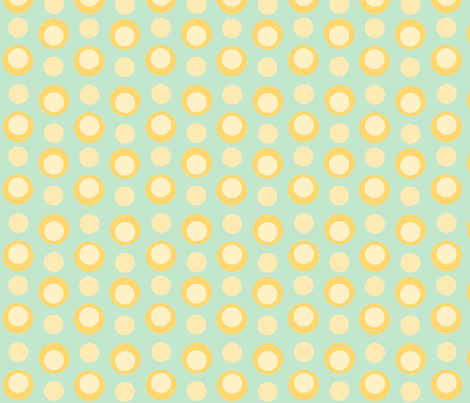 funky chunky polkadots fabric by thehandmadehome on Spoonflower - custom fabric