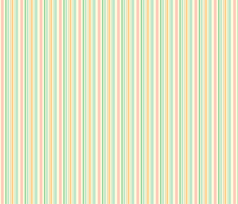 citrus stripes fabric by thehandmadehome on Spoonflower - custom fabric