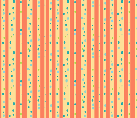 Knots-Sherbert fabric by joycespeer on Spoonflower - custom fabric