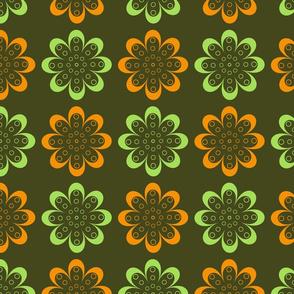 line flowers