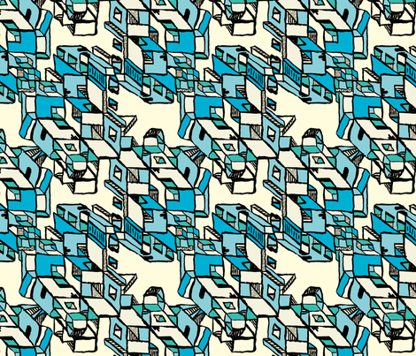 Gluekit: All Out and Over fabric by gluekit on Spoonflower - custom fabric