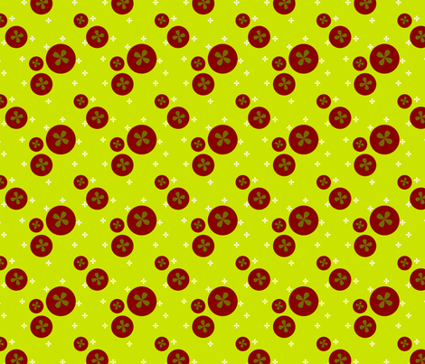 Random Tomatoes  fabric by wendymoon on Spoonflower - custom fabric