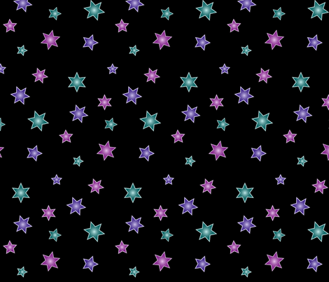 gradient-stars-1 fabric by mina on Spoonflower - custom fabric