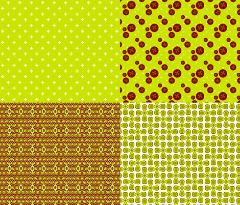 Veggie Sampler fabric by wendymoon on Spoonflower - custom fabric