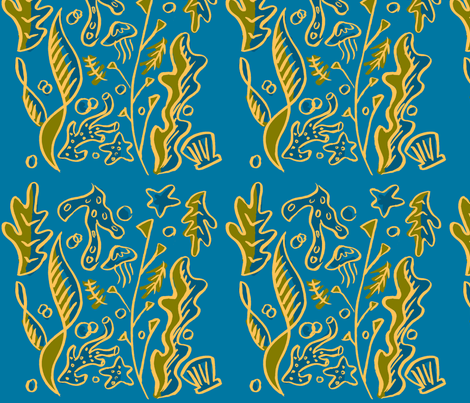 seaweed300 fabric by letile on Spoonflower - custom fabric