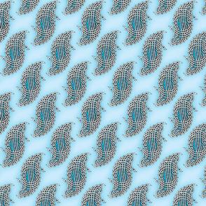 Knotwork - Aqua