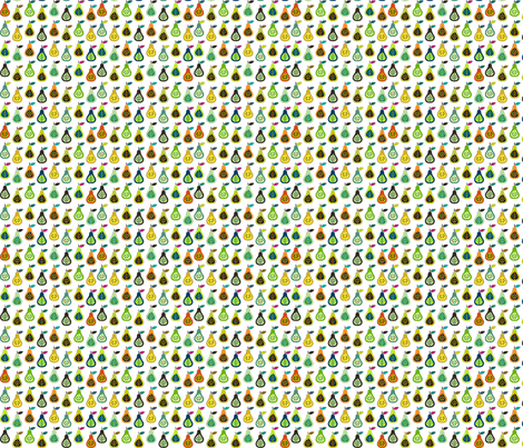 PearPops - Gumbo fabric by lollychops on Spoonflower - custom fabric