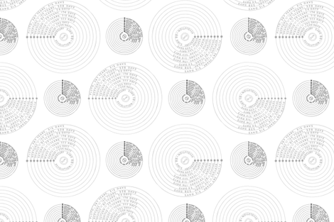 orbits fabric by wiccked on Spoonflower - custom fabric