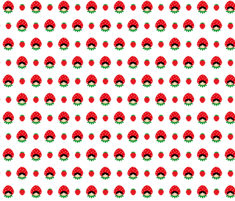 Strawberryopia fabric by christinopia on Spoonflower - custom fabric