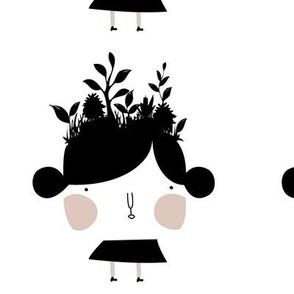 My garden doll