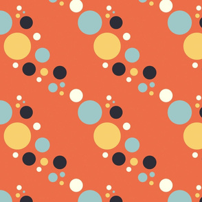 bubbles orange