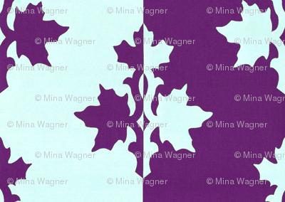 RED-VIOLET_counterchange_stripe_papercut_aqua