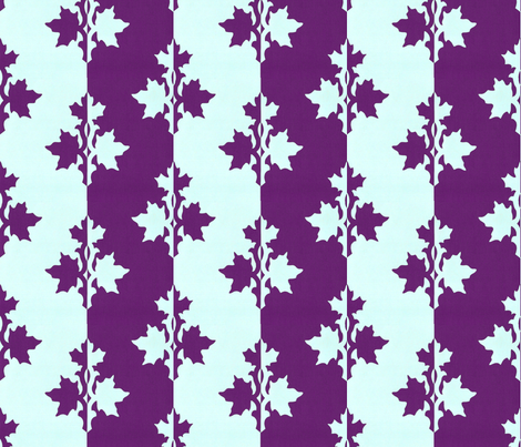RED-VIOLET_counterchange_stripe_papercut_aqua fabric by mina on Spoonflower - custom fabric
