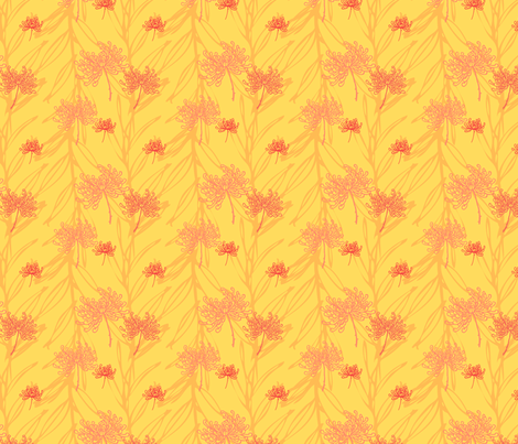 pinkgrapefruit2 fabric by riga on Spoonflower - custom fabric