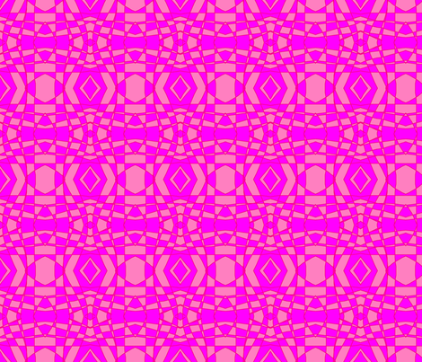 pink_on_pink_check fabric by eelkat on Spoonflower - custom fabric