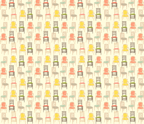 chairspattern fabric by riga on Spoonflower - custom fabric