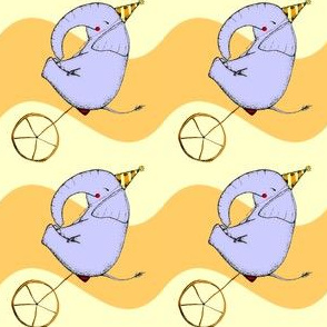 Unicycle Elephant
