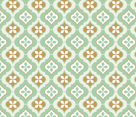 morocco_tiles fabric by eva_chang on Spoonflower - custom fabric