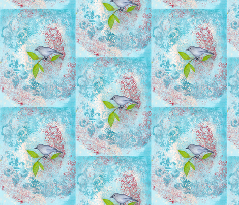 birdie fabric by stonetta on Spoonflower - custom fabric
