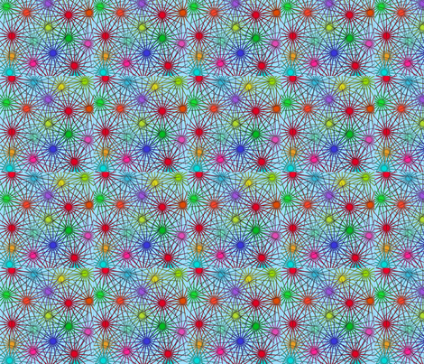 pointy fabric by stonetta on Spoonflower - custom fabric