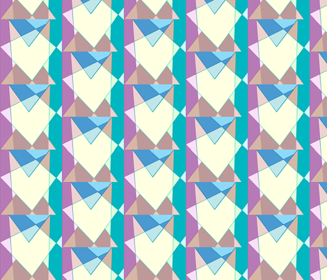 Lighthearted colors fabric by mina on Spoonflower - custom fabric