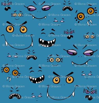 Monster Baybeez Blue