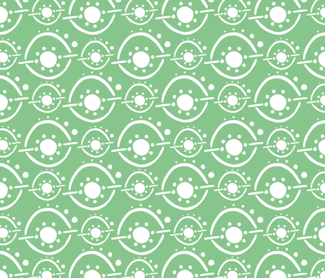 Snowball Fight fabric by katty on Spoonflower - custom fabric