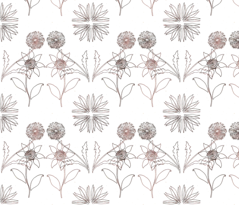 seeing_double_2_tone fabric by stonetta on Spoonflower - custom fabric