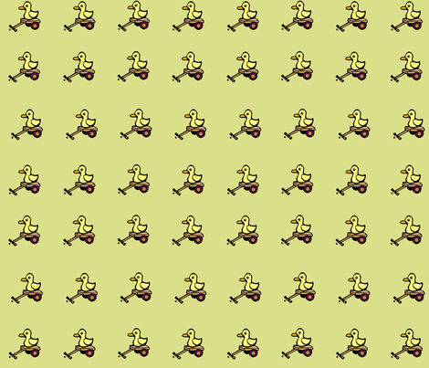 Duckies fabric by jokers_r_wild on Spoonflower - custom fabric