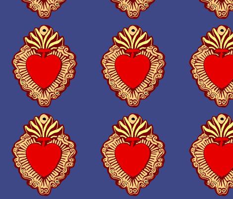 Milagro fabric by jokers_r_wild on Spoonflower - custom fabric