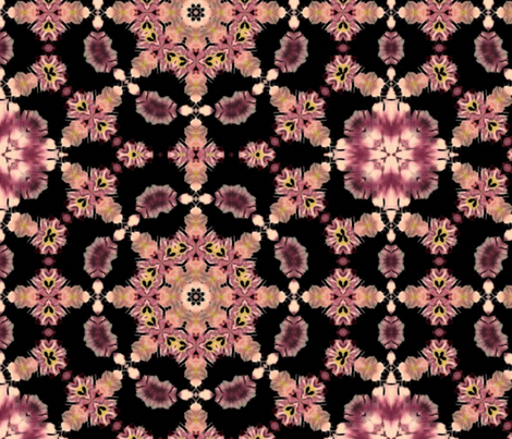 floral_kalid fabric by vo_aka_virginiao on Spoonflower - custom fabric
