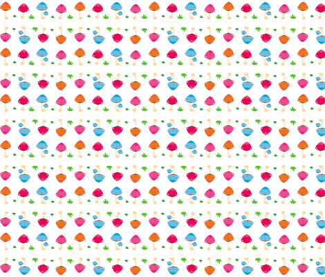 spoonmushies fabric by indescribble on Spoonflower - custom fabric