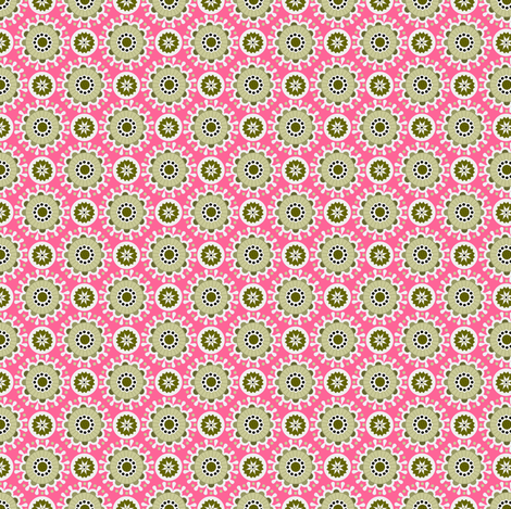karneval in pink fabric by renule on Spoonflower - custom fabric