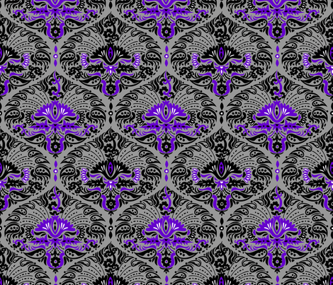 purple_rapsody fabric by renule on Spoonflower - custom fabric