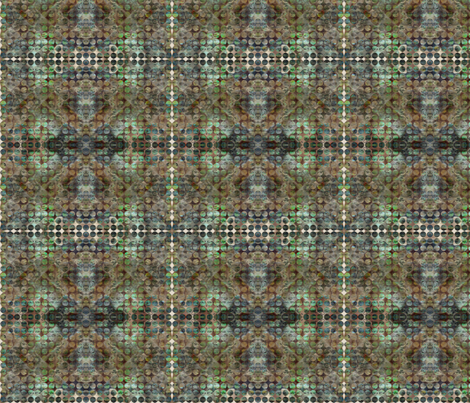 mosaic_circles fabric by vo_aka_virginiao on Spoonflower - custom fabric